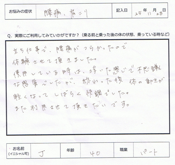 12 - 口コミ/体験談